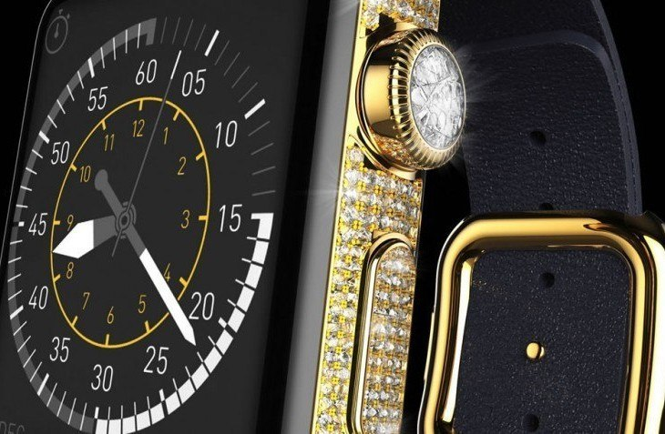 It Had To Happen: $163k Apple Watch Is Encrusted With Diamonds
