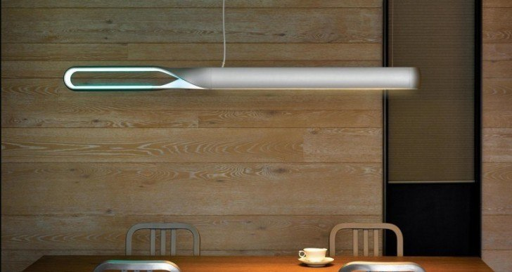 This LED Suspension Lamp Understands Hand Gestures