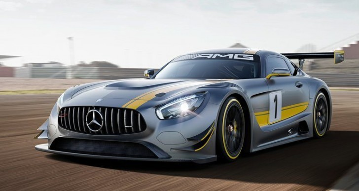 Mercedes-AMG GT3 Will Be Available At the End of the Year