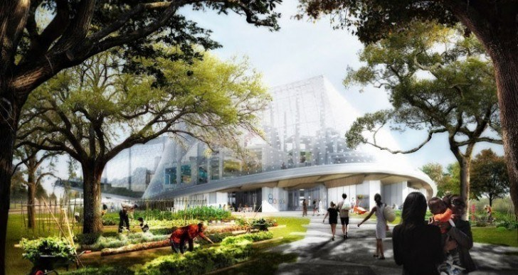 Google's New HQ Will Be Built by Robotic Cranes, and Will Be More 'Workshop' Than Corporate Office