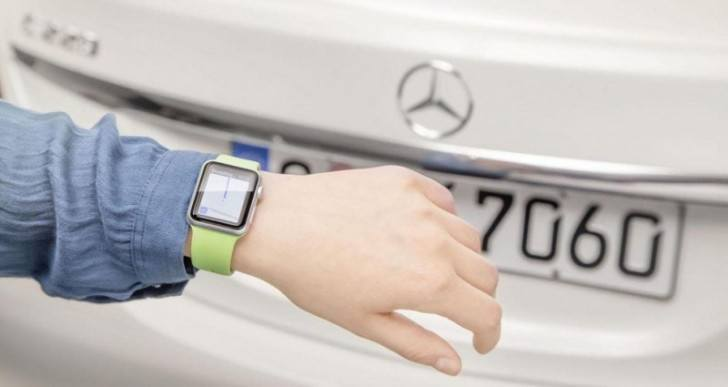 Mercedes-Benz Now Integrates With Apple Watch