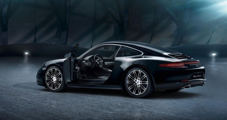 Porsche Unveils 911 Carrera and Boxster Black Editions