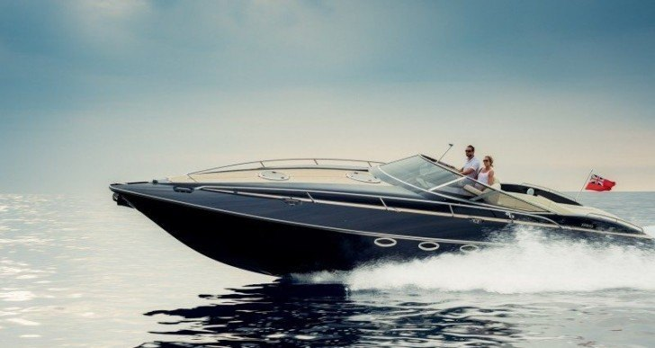 The Sleek Hunton XRS43 Powerboat Will Complement Your Superyacht Nicely