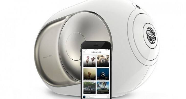 Devialet Phantom Wireless Speaker Combines Analog and Digital Amplification
