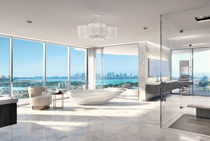 L Atelier Residences In Miami Beach Offer Modern
