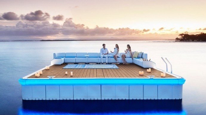 'Waterscape' Floating Platform Lets You Get Creative With Your Waterfront Property