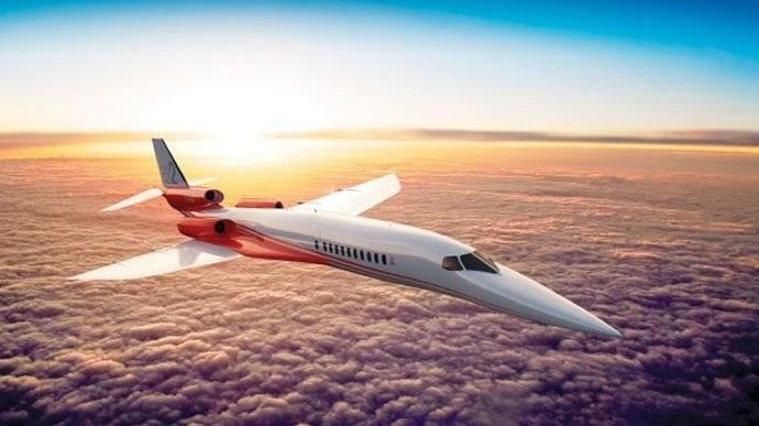 $120M Supersonic Business Jet Now Available for Pre-Order
