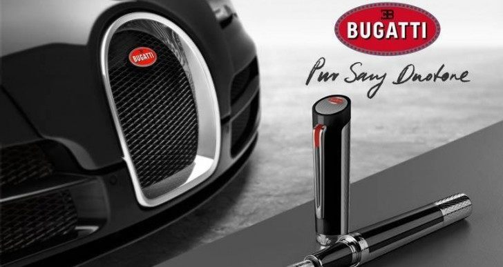 Bugatti Pur Sang Duotone Pen Inspired by Veyron