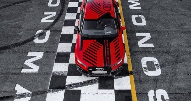 Driverless Audi RS7 Now Posts Better Lap Times Than Human Racecar Drivers