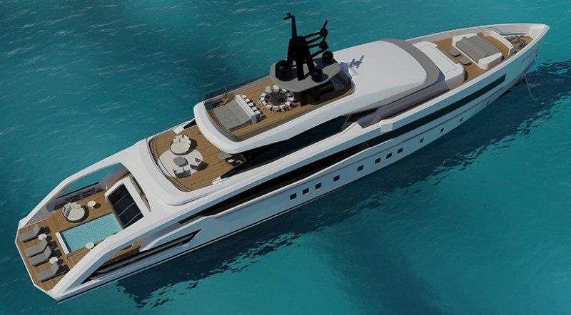 Italian Yacht Builder CRN Unveils Oceansport Concept ...