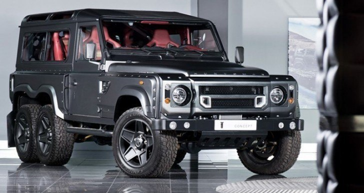 Flying Huntsman 6×6 is a Six-Wheeled Land Rover Defender