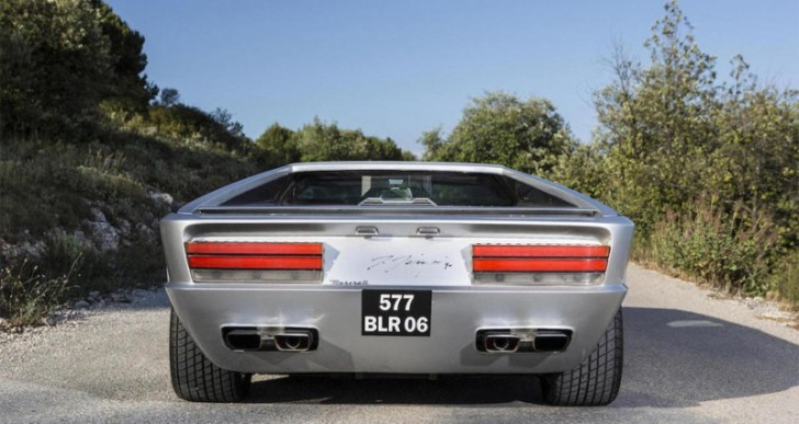 1972 Maserati Boomerang Concept Fetches $3.7M at Auction
