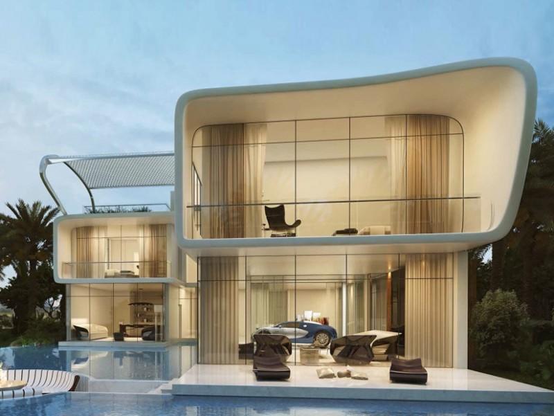 Land Rover Manhattan >> Dubai Gets Bugatti-Styled Homes Overlooking Trump World ...