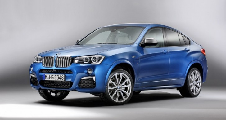 Leaked Images Reveal BMW X4 M40i