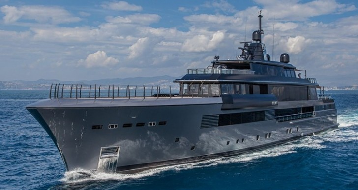 Italian Shipyard CRN Launches Atlante Superyacht