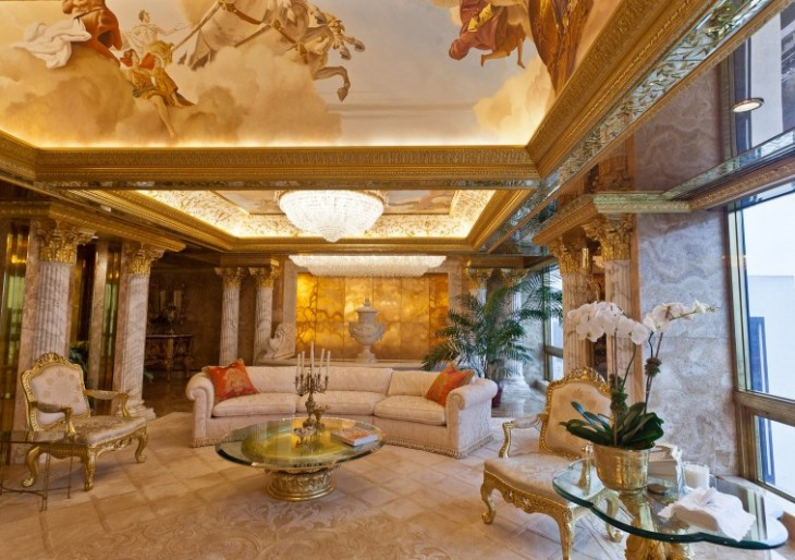 A Look Inside Donald Trump's NYC Penthouse