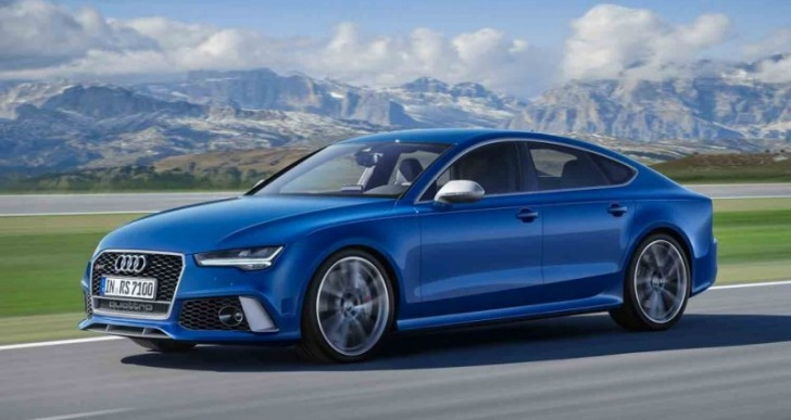 2016 Audi RS7 Cranks Up the Power to 605 HP