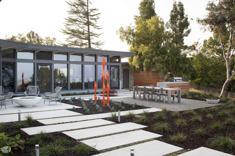 Mid Century Modern Home In Redwood City California