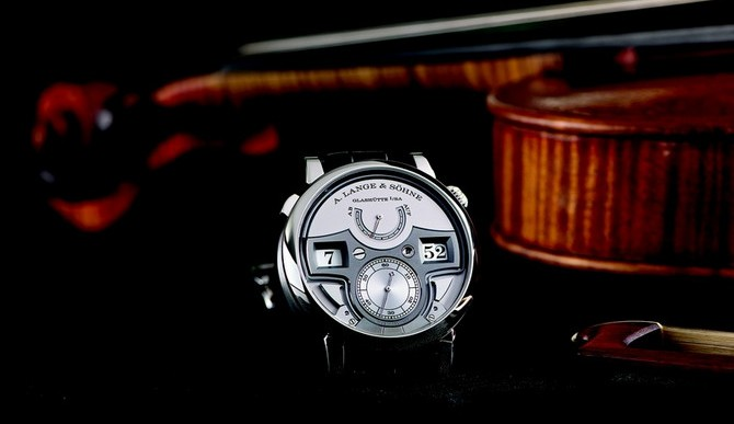 A. Lange & Söhne Celebrates 200th Anniversary With Zeitwerk Minute Repeater
