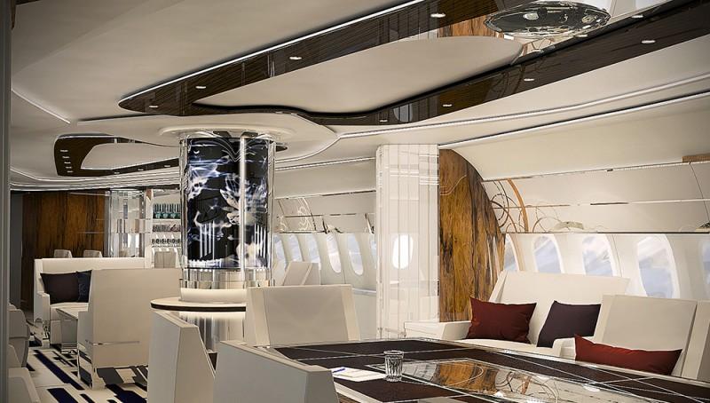 A Look Inside A Custom Boeing 787 9 Dreamliner Private Jet