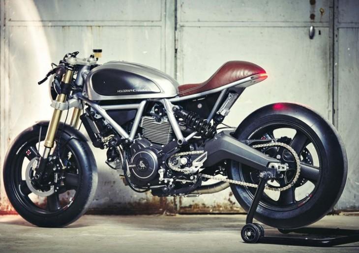 This Custom Ducati Scrambler Is a Sleek Cafe Racer