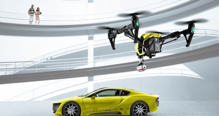 Swiss Tuner Rinspeed Unveils Drone-Equipped Concept