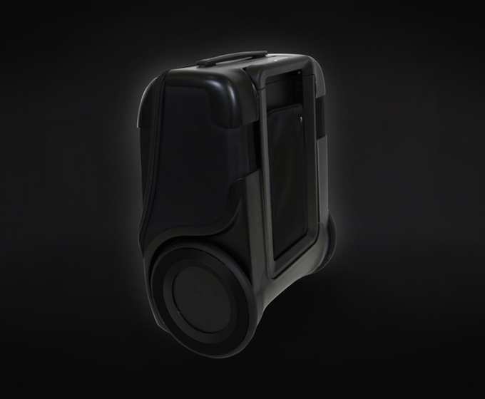 This Clever Carry On Bag With Charging Station And Gps Raised 3 2m American Luxury
