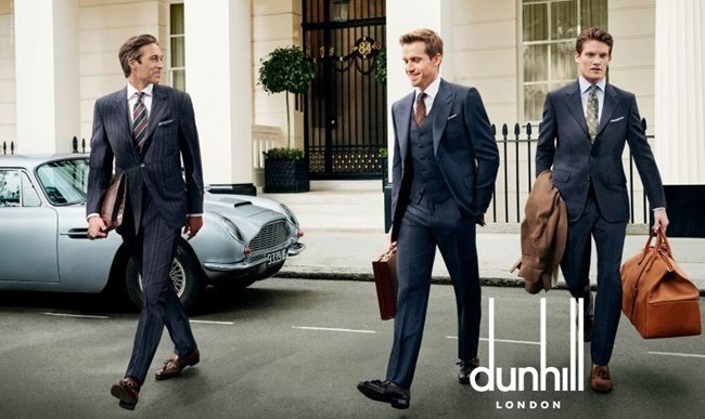 Alfred Dunhill SS16 an Homage to London and Its Gentlemen