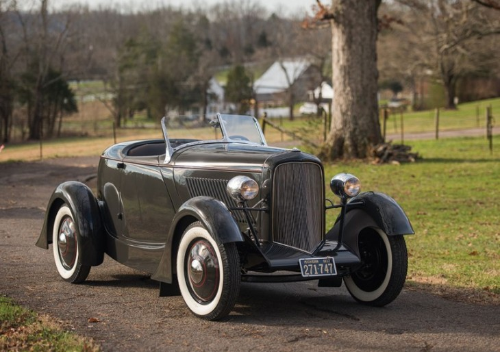 Own a Piece of Automotive History With the 1932 Ford Model 18 Edsel Ford Speedster