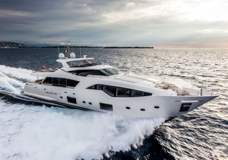 Vardar Superyacht Is the First in Ferretti's Superbly-Styled Custom Line 108 Series
