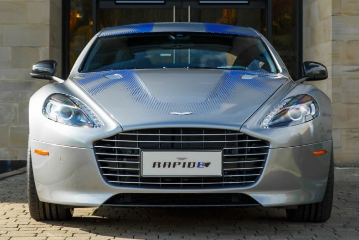 Aston Martin's RapidE All-Electric Car Will Be Limited to a Run of 155
