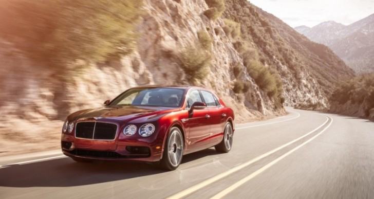 Bentley Introduces Sportier Flying Spur V8 S