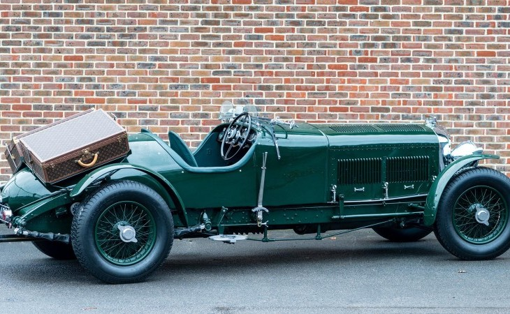 For 1 2m This 1931 Bentley 8 Litre And Its Vintage Louis Vuitton