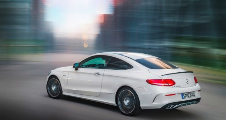 Mercedes-AMG Adds C43 4Matic Coupe to 2017 Lineup
