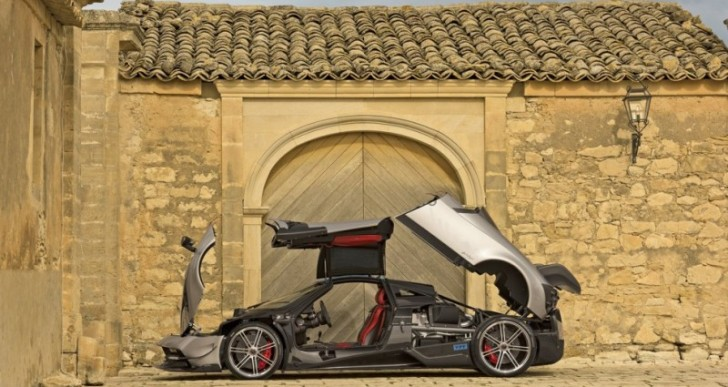 Pagani's New $2.5M Huayra BC Hypercar Is Already Sold Out