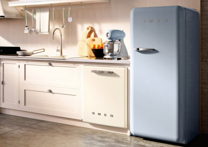 Smeg Introduces Larger Models of Its Colorful Retro-Style Appliances