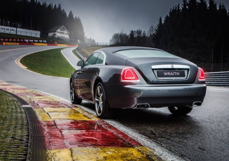 Special-Edition Rolls-Royce Wraith Is a Tribute to Spa-Francorchamps Circuit