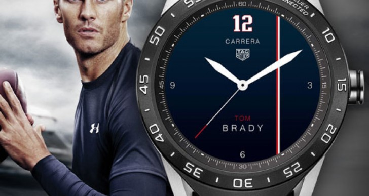 Tom Brady and Other Stars Design Watch Face for Tag Heuer Connected
