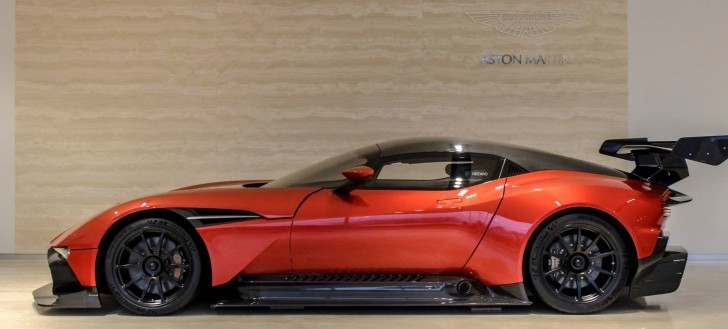 Used Aston Martin Vulcan Pops Up on the Market for $3.4M