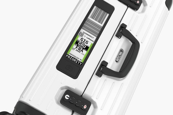Rimowa's Electronic Luggage Tag Means You Can Check Bags From Home