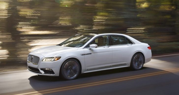 2017 Lincoln Continental Will Cost Up to $82k
