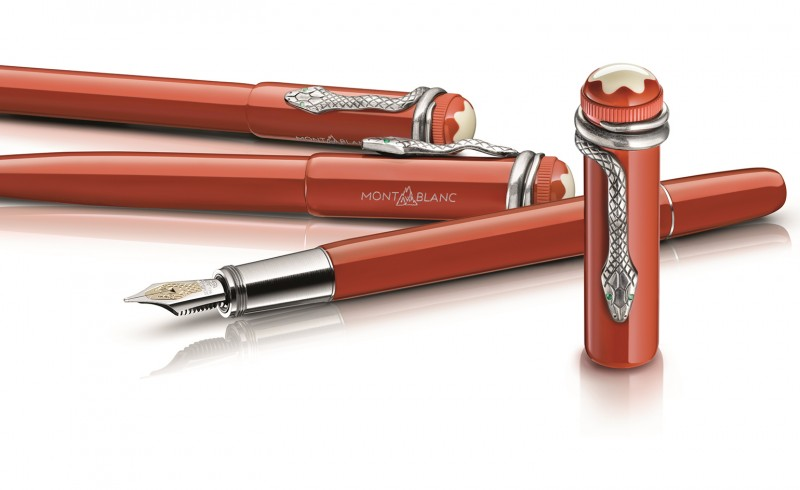 Montblanc Celebrates 110th Anniversary With Heritage Writing