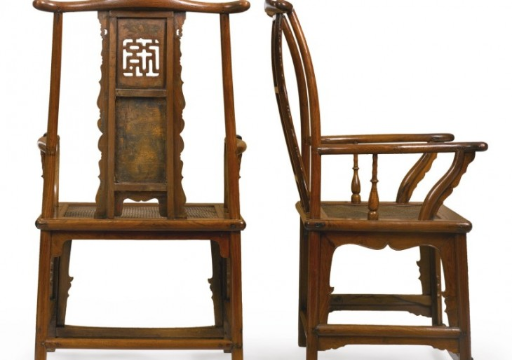 Pair of Ming Dynasty Armchairs Sell for $1.2M at Auction