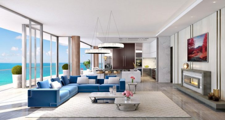 Karl Lagerfeld Tapped for Lobby Design at Miami's Acqualina Condos