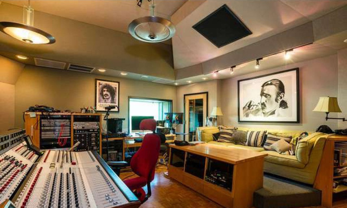 L A Compound Formerly Owned By Frank Zappa Hits The