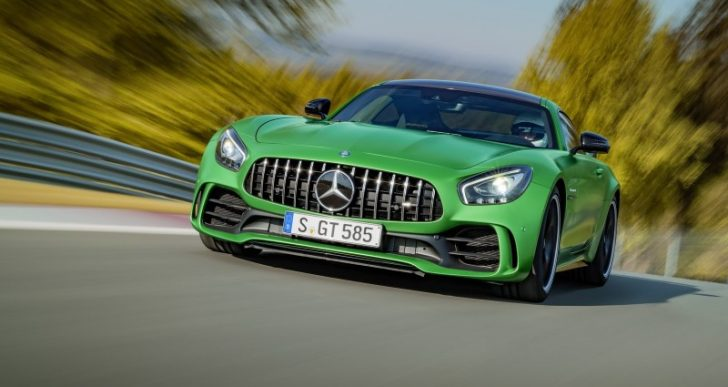 Mercedes-AMG Unleashes Its 'Green Hell' GT R