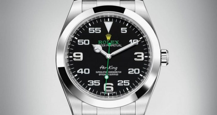Rolex Looks to Its Aviation History for Oyster Perpetual Air-King Updates
