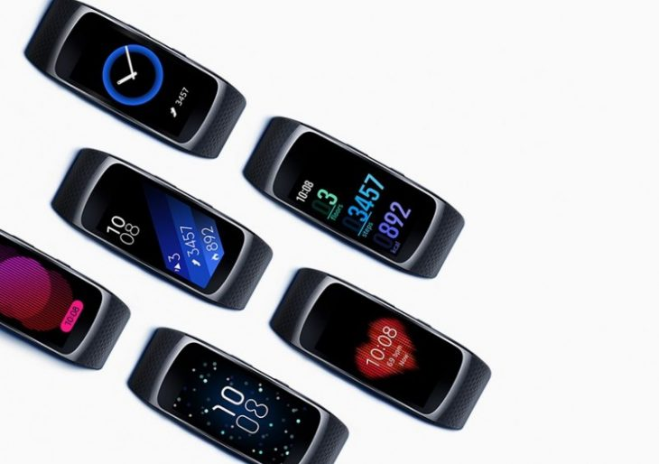 Samsung Introduces 'Gear Fit2' and 'Gear IconX' Wearables