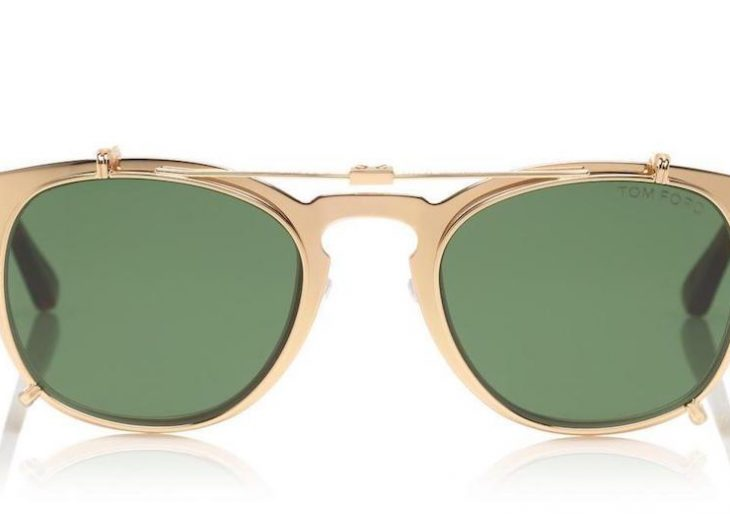 Tom Ford Unveils $2K Gold-Plated Sunglasses