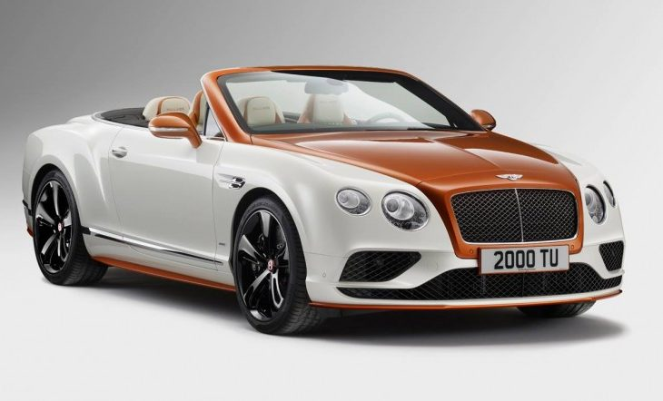 Bentley S Mulliner Work Stuns With Two Tone Continental Gt Convertible